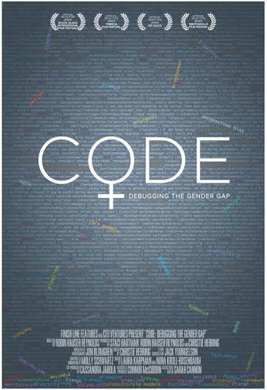 Poster for CODE - Debugging the gender gap